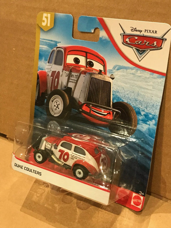 DISNEY CARS 3 DIECAST - Duke Coulters
