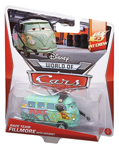 DISNEY CARS DIECAST - Race Team Fillmore With Headset