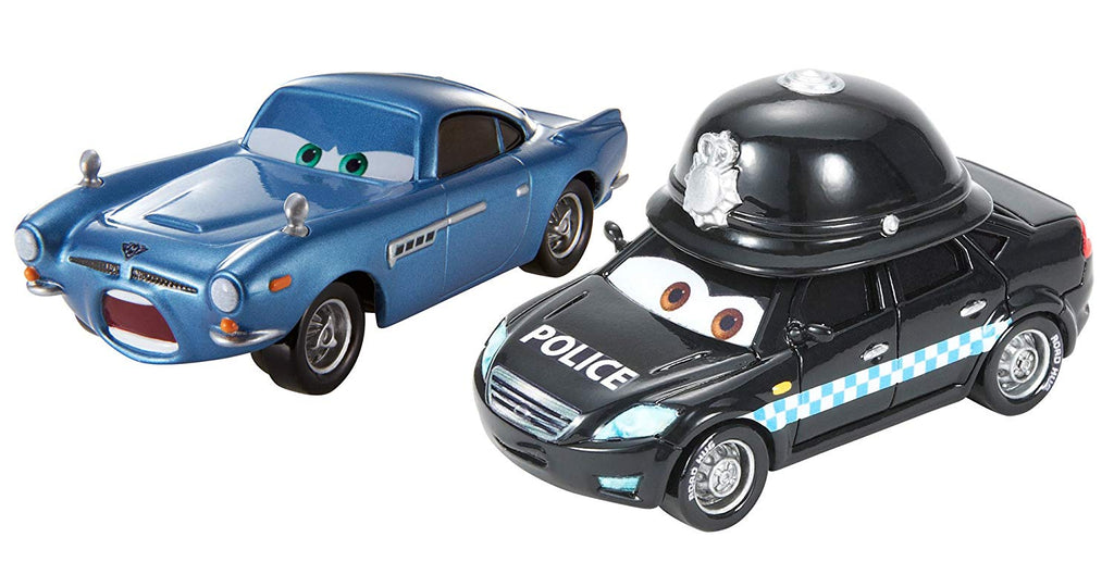 disney cars diecast  palace danger finn mcmissile and