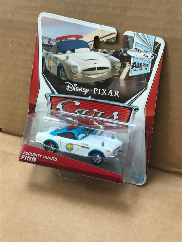 DISNEY CARS DIECAST - Security Guard Finn McMissile