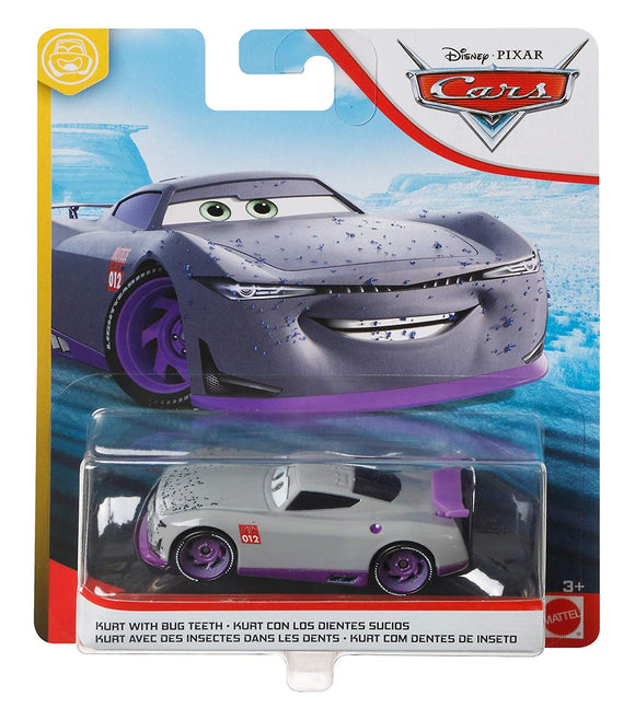 DISNEY CARS 3 DIECAST - Trainee 12 - Kurt with bug teeth