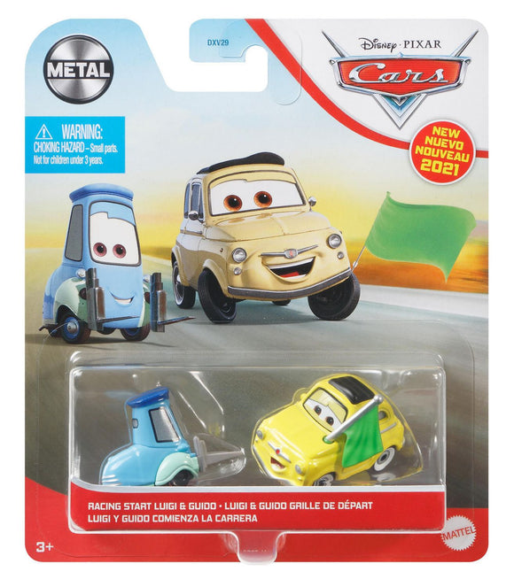 DISNEY CARS DIECAST - Racing Start Luigi and Guido