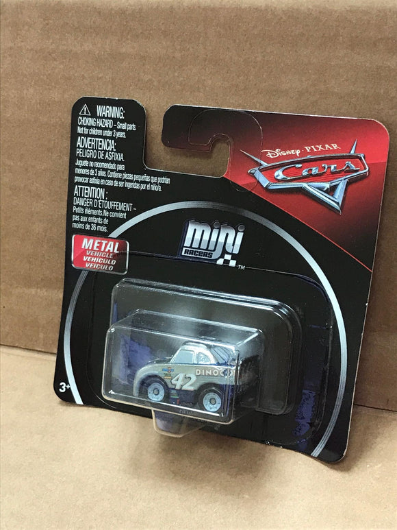 DISNEY CARS DIECAST - Mini Racers - Silver Cal Weathers