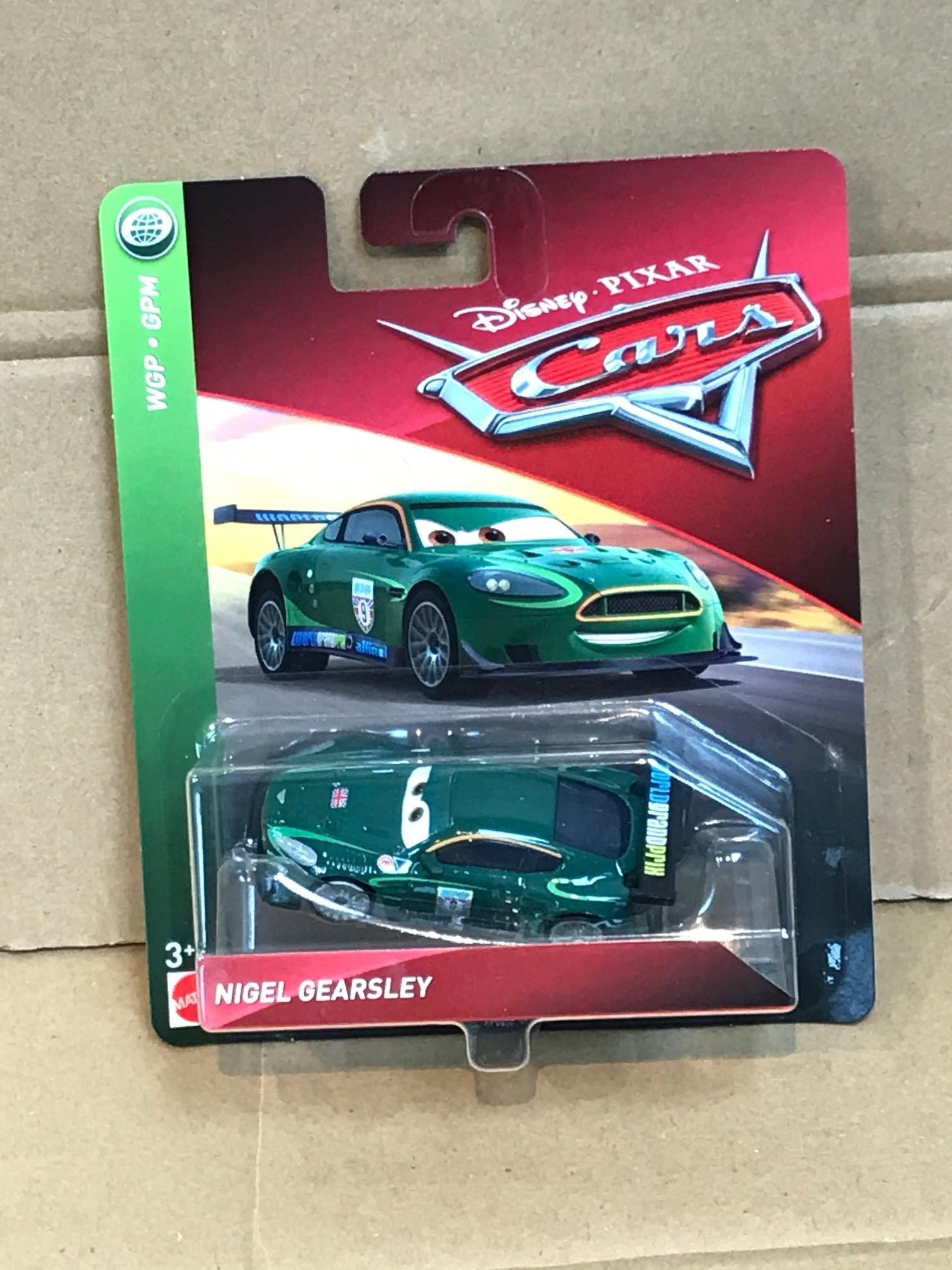 Disney Cars Diecast Nigel Gearsley Gemdans