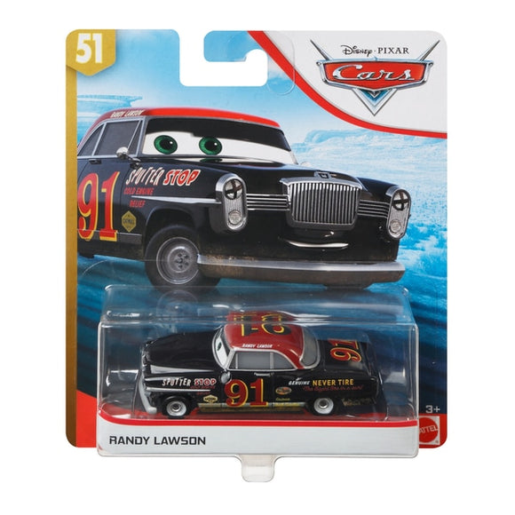 DISNEY CARS 3 DIECAST - Randy Lawson