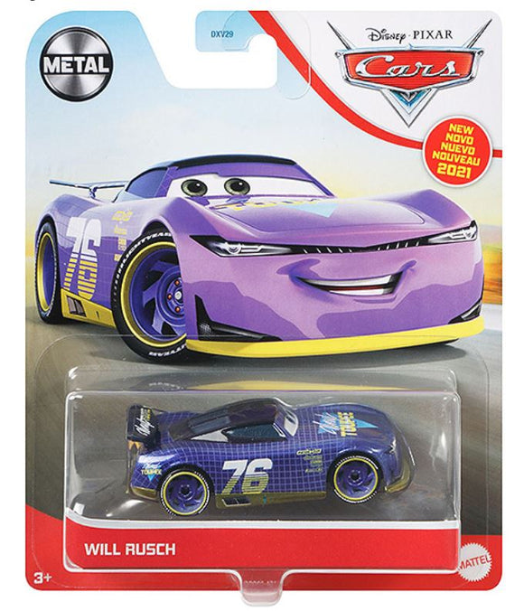 DISNEY CARS 3 DIECAST - Will Rusch