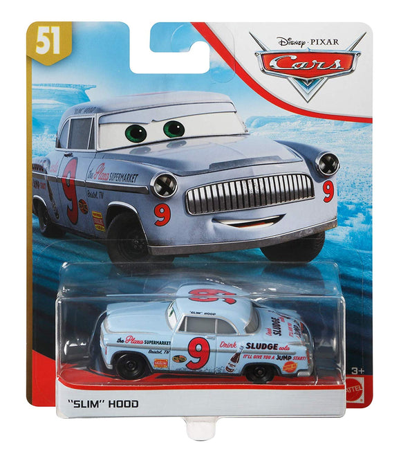 DISNEY CARS 3 DIECAST - Slim Hood