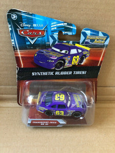 DISNEY CARS DIECAST - Transberry Juice with Synthetic Rubber Tires