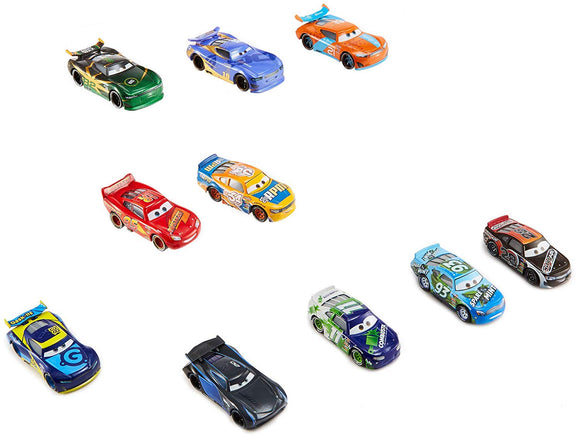 DISNEY CARS 3 DIECAST - Speedway of the South Pack 2 with Dan Carcia - FTX82