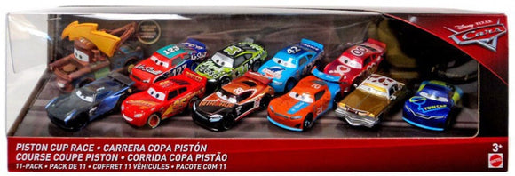 DISNEY CARS DIECAST - Piston Cup Race 11 Pack