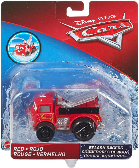 DISNEY CARS Splash Racers - Red the fire truck