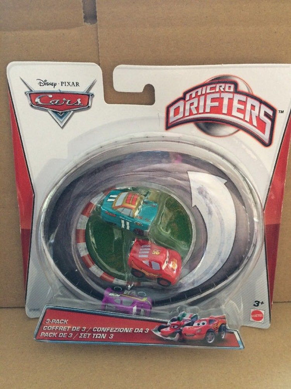 DISNEY CARS - Micro Drifters Mario Andretti Cola Lightning McQueen