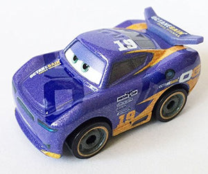DISNEY CARS DIECAST - Sealed Blind Bag Mini Racers - Bag No 15 - Metallic Daniel Swervez