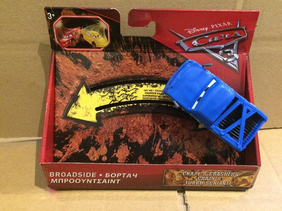 DISNEY CARS 3 - Crazy 8 Crashers - Broadside