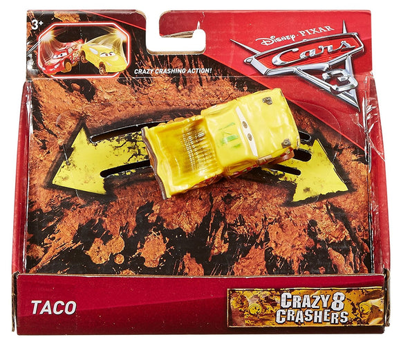 DISNEY CARS 3 - Crazy 8 Crashers - Taco