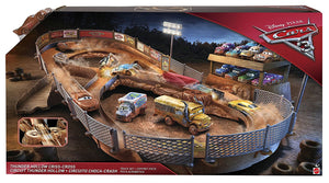 DISNEY CARS  3 - Thunder Hollow Criss Cross Playset