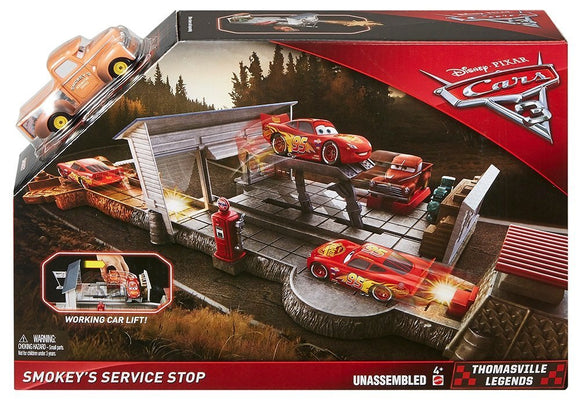 DISNEY CARS 3 - Smokey's Service Stop Playset