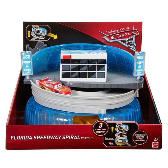 DISNEY CARS  3 - Florida Spiral Speedway Playset