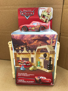 DISNEY CARS  - Luigi's Portable Playset