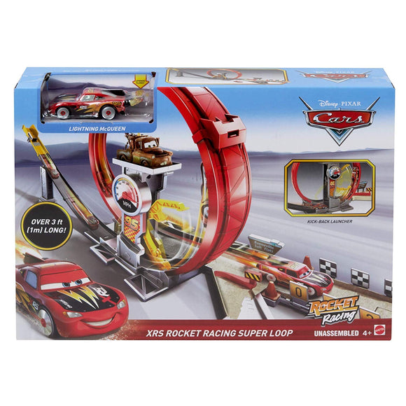 DISNEY CARS XRS - Rocket Racing Super Loop