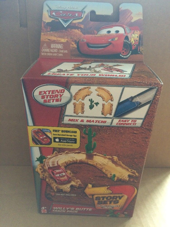 DISNEY CARS  - Willy's Butte Track Pack - Extend Story Sets