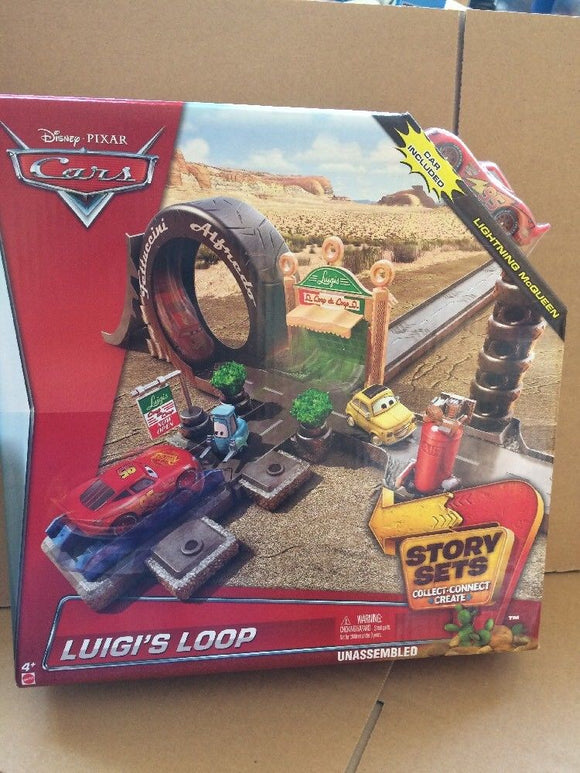 DISNEY CARS STORY SETS - Luigi's Loop Playset