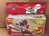 DISNEY CARS  - Piston Cup Pit Stop Play and Race Launcher - Story Sets