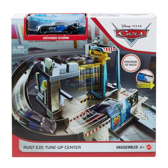 DISNEY CARS  3 - Rusteze Tune Up Center Playset