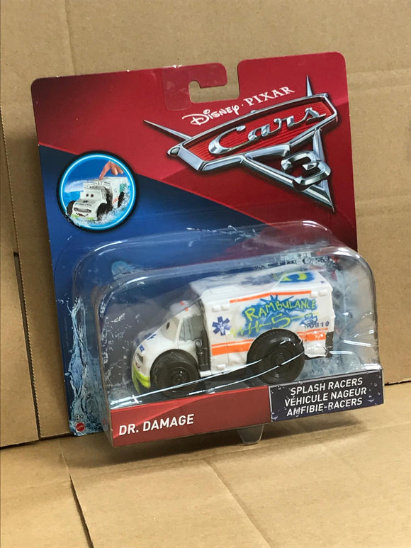 DISNEY CARS 3 Splash Racers - Dr Damage
