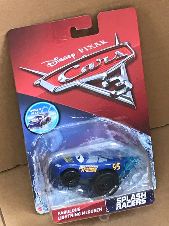 DISNEY CARS 3 Splash Racers - Fabulous Lightning McQueen