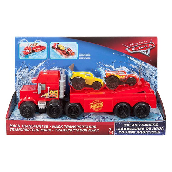 DISNEY CARS 3 Splash Racers - Mack Transporter