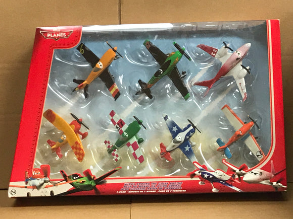 DISNEY PLANES DIECAST - Wings around the globe 7-pack set 2