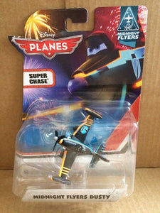 DISNEY PLANES DIECAST - Midnight Flyers Dusty Crophopper