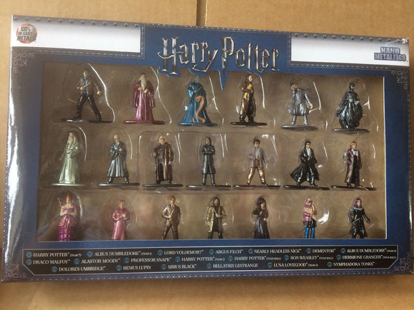 Harry Potter Nano Metalfigs - 20 pack wave 2 with Harry Ron Hermione Dumbledore Sirius