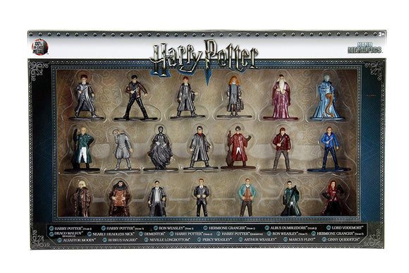 Harry Potter Nano Metalfigs - 20 pack wave 1 with Harry Ron Hermione Hagrid Dumbledore