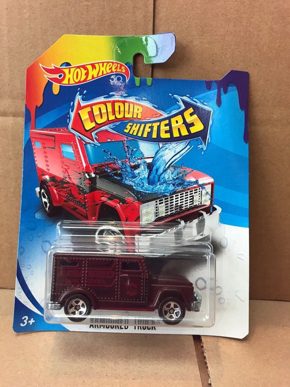 HOT WHEELS Colour Shifters - Armoured Truck