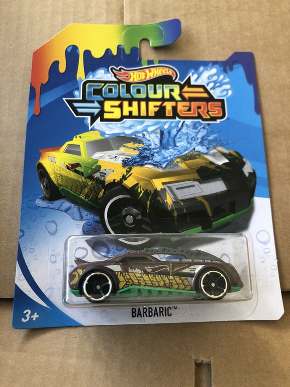 HOT WHEELS Colour Shifters - Barbaric