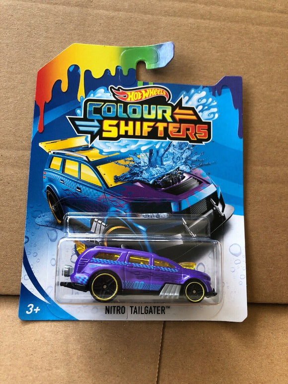 HOT WHEELS Colour Shifters - Nitro Tailgater
