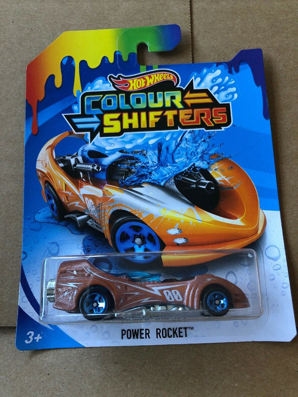 HOT WHEELS Colour Shifters - Power Rocket