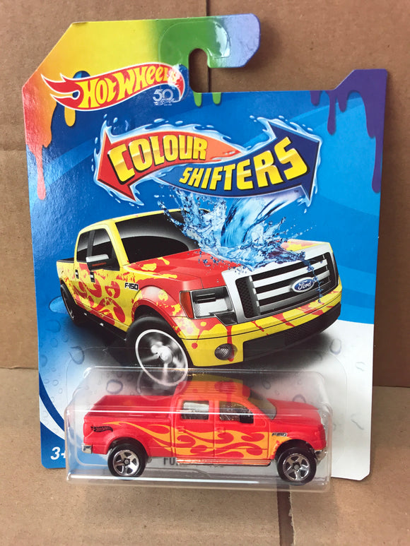 HOT WHEELS Colour Shifters - Ford F-150