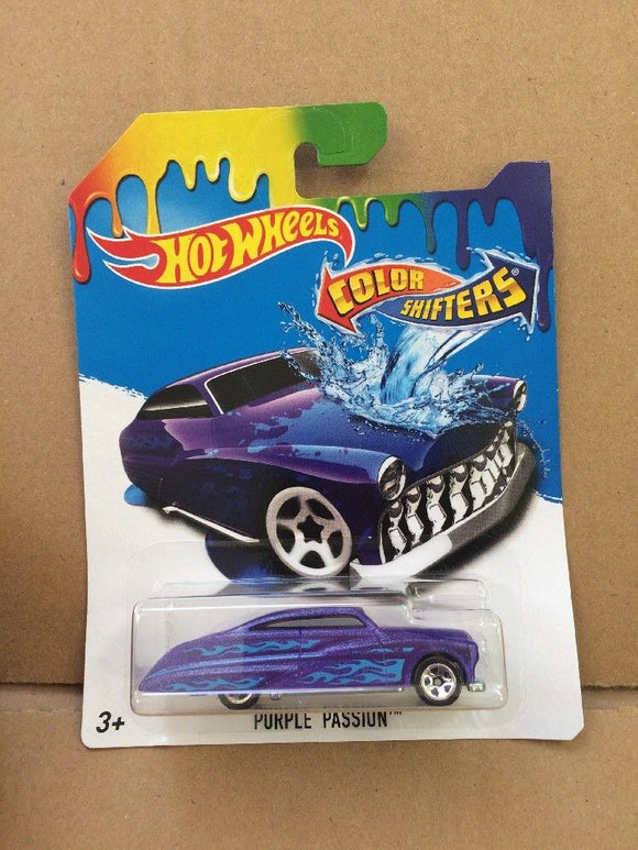 HOT WHEELS Colour Shifters - Purple Passion