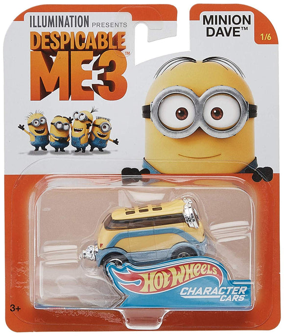 HOT WHEELS DIECAST - Despicable Me 3 - Minion Dave