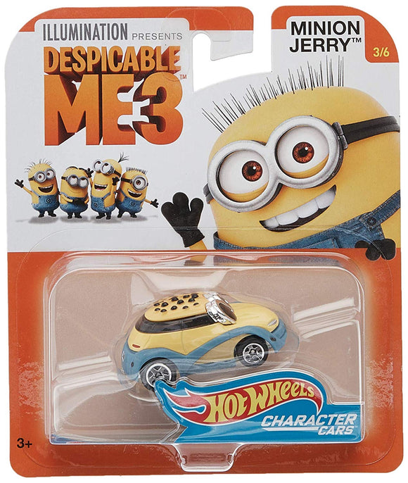 HOT WHEELS DIECAST - Despicable Me 3 - Minion Jerry