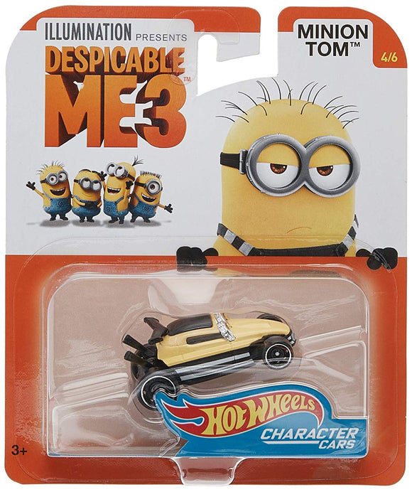 HOT WHEELS DIECAST - Despicable Me 3 - Minion Tom