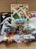 HOT WHEELS DIECAST - Real Riders Pop Culture - Mad Magazine set of 5