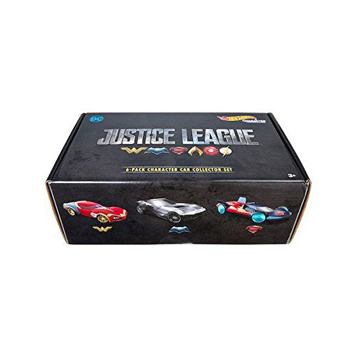 HOT WHEELS DIECAST - Justice League 6 pack collector set