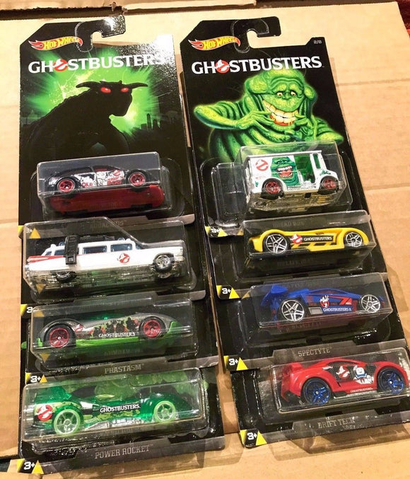 HOT WHEELS DIECAST - Ghostbusters Series Set Of 8