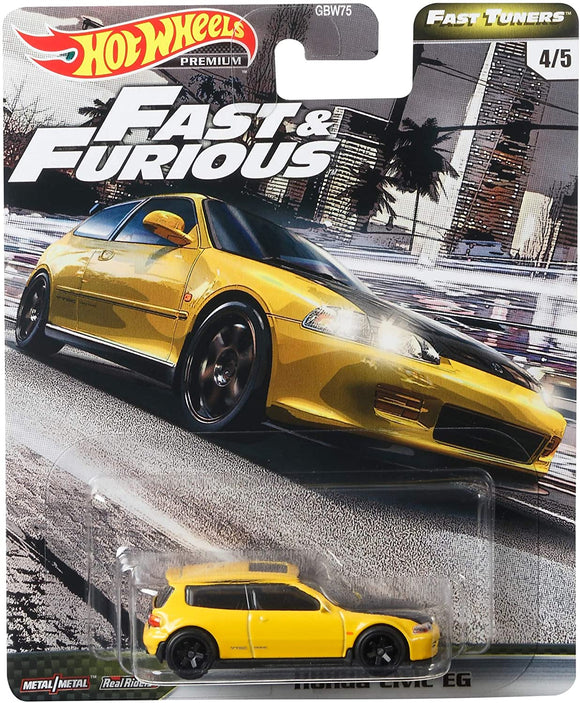 HOT WHEELS DIECAST - Fast and Furious Fast Tuners Honda Civic EG