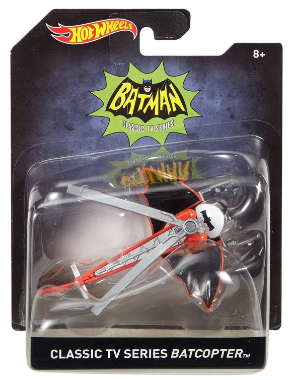 HOT WHEELS BATMAN - Classic TV Series Batcopter