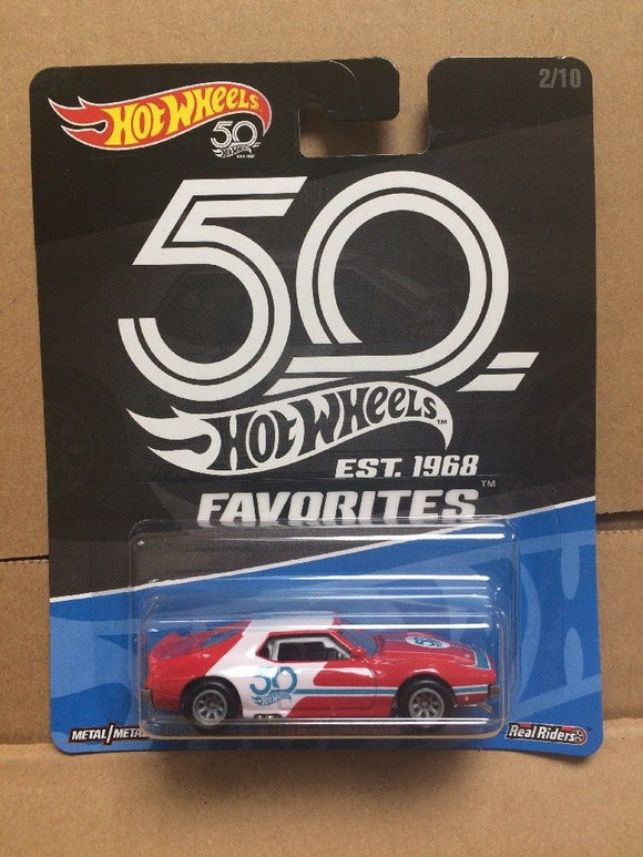 HOT WHEELS DIECAST - Real Riders 50th Anniversary Favorites - '71 AMC Javelin